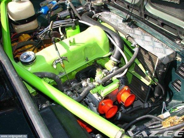 Тюнинг мотора ваз 2106